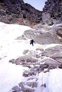 NW Ice Couloir - Eldorado Peak