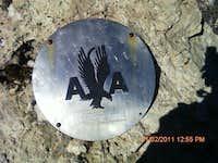 Unknown memorial on Guadalupe peak