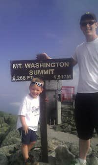 Brian & Levi Mt. Washington