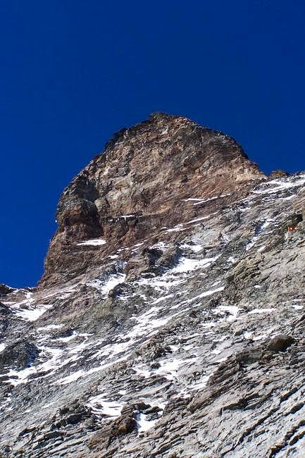 view of the summit from...