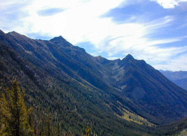 Abernathy Peak from the...