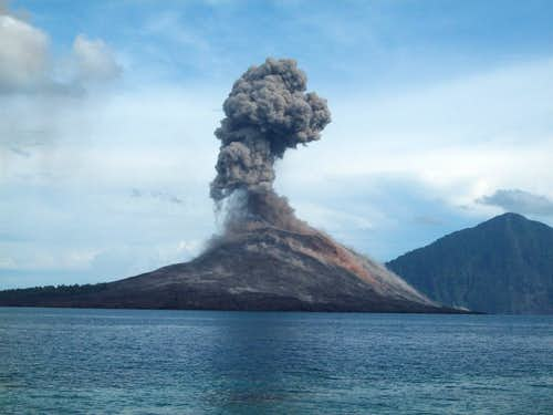 Exploding Krakatau