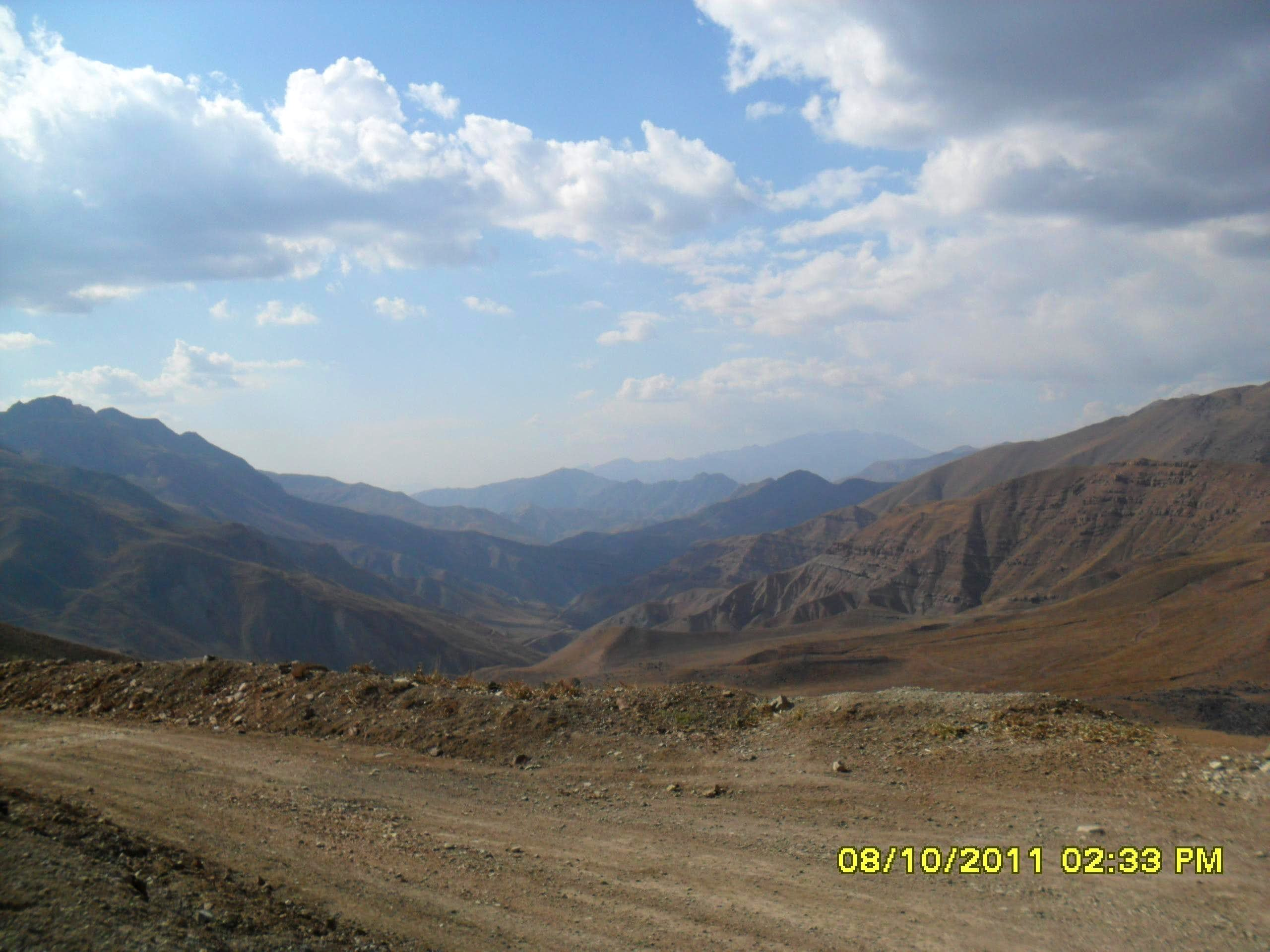 around the alborz mountains