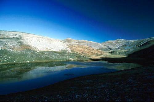 A picture of Lago Pantaniello...