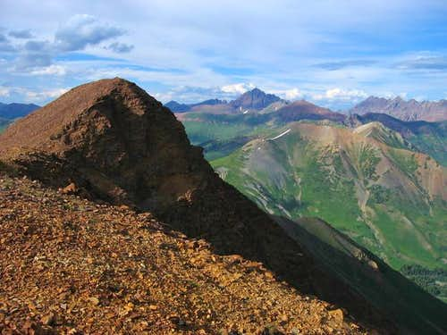 Baldy Mountain\'s summit....