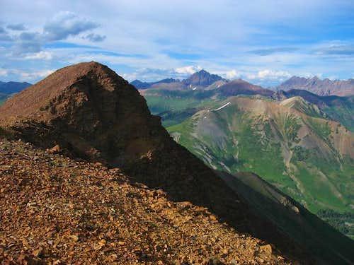 Baldy Mountain's summit....