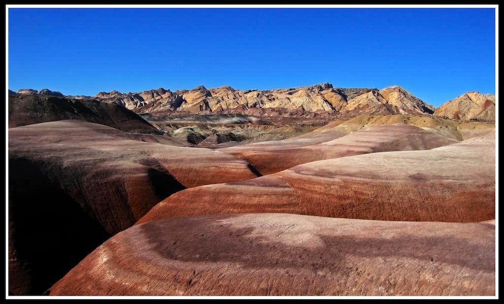 Reef and Bentonite Hills