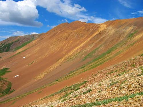 The beautiful Mount Baldy ....