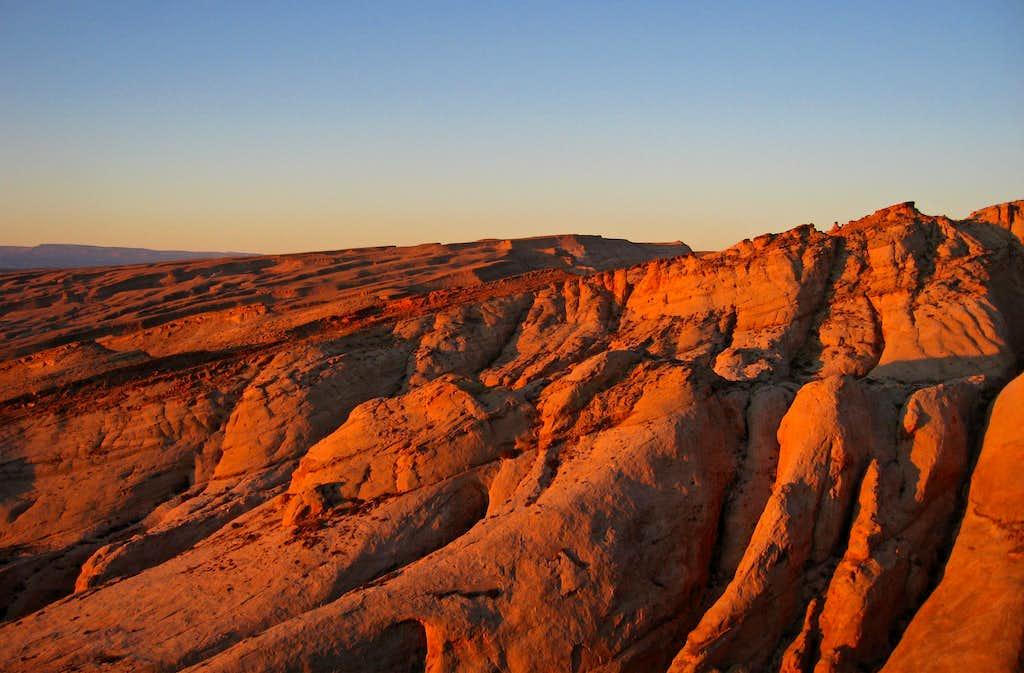Sunrise on Quandary Canyon