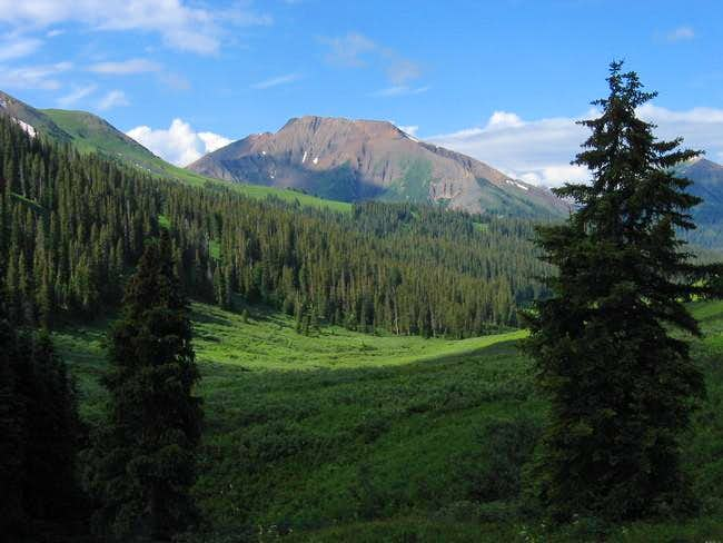 Baldy Mountain from the...