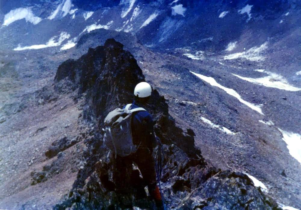 P. LAURES South Spur and traverse to P. GARIN on 1976