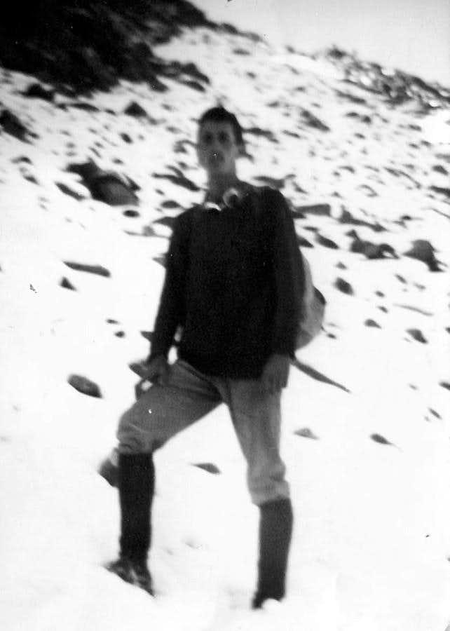 PIC GARIN (3481m) under the Shoulder 3208m on 1966