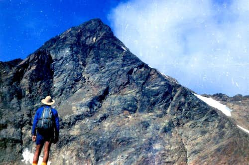 GARIN PEAK (3481m) NE Face and N-NE Edge on 1976