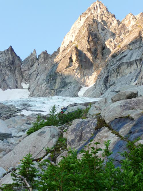 NE Buttress Colchuck Peak