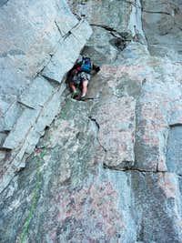 NE Buttress Colchuck Peak
