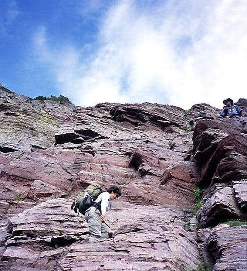 Southeast Couloir, Sinopah Mountain
