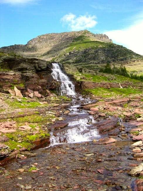 Beautiful waterfalls adorn...