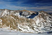 Lake Fork-Wheeler Peak Ridge from UN 12,807