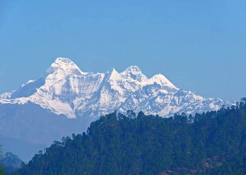 Nanda Devi from the South-Southwest