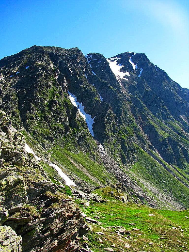 Ridge of Timmelsjochberg