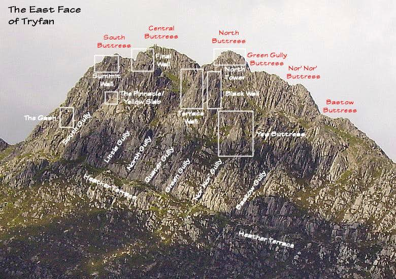 East Face of Tryfan
