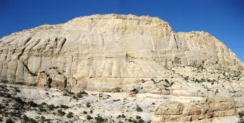 Pectols Pyramid-- East Face