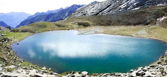 Raty Lake (2286 m.) from Northwest