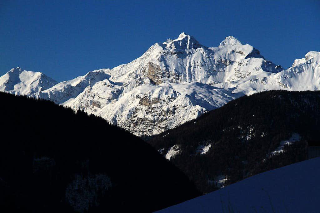 winter  view from NE
