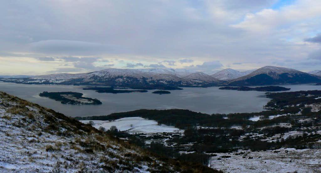Winter in Loch Lomond NP