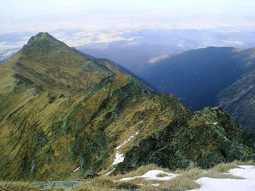 Buteanu ridge