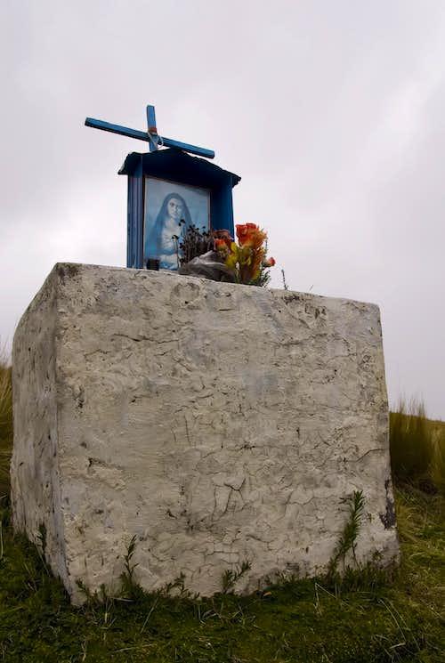The La Virgin Shrine