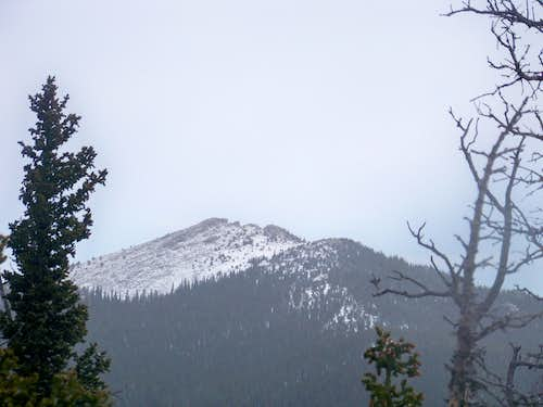 East toward Chief Mountain