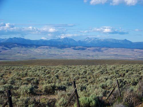 Wallowa Mountains south
