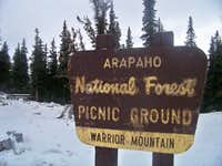 Warrior Mountain Picnic Grounds