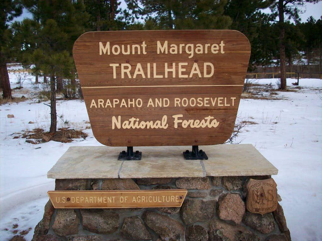 Mount Margaret TH Sign