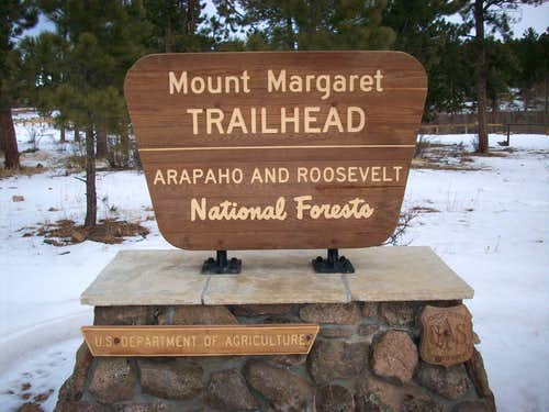 Mount Margaret TH Sign