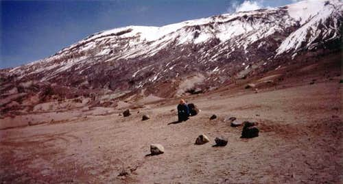 Nevado Ruiz from the old...