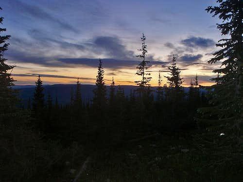 Sunrising over Mt. Sopris