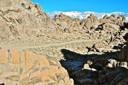 Inyo Mountains seen from...