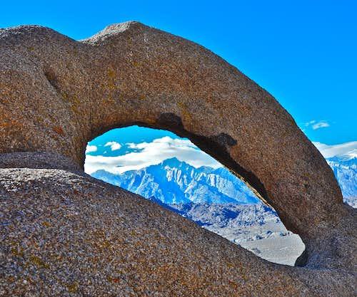 Lone Pine Peak seen from...