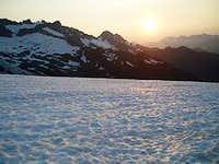 From Shuksan at Sun Set