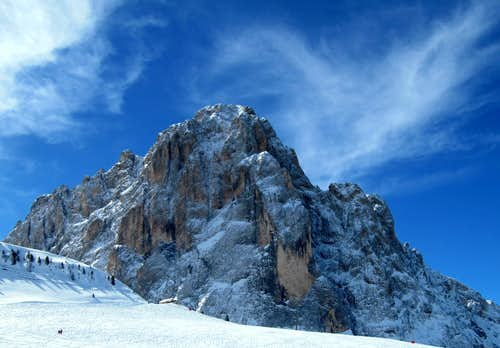 Sassolungo (East Face, 3181m)