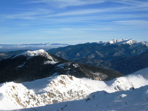 North toward the Truchas peaks