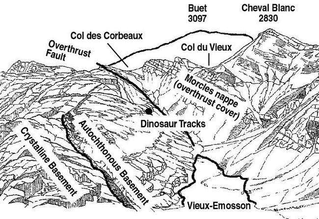 Location map of the Dinosaur...