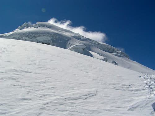Cotopaxi normal route