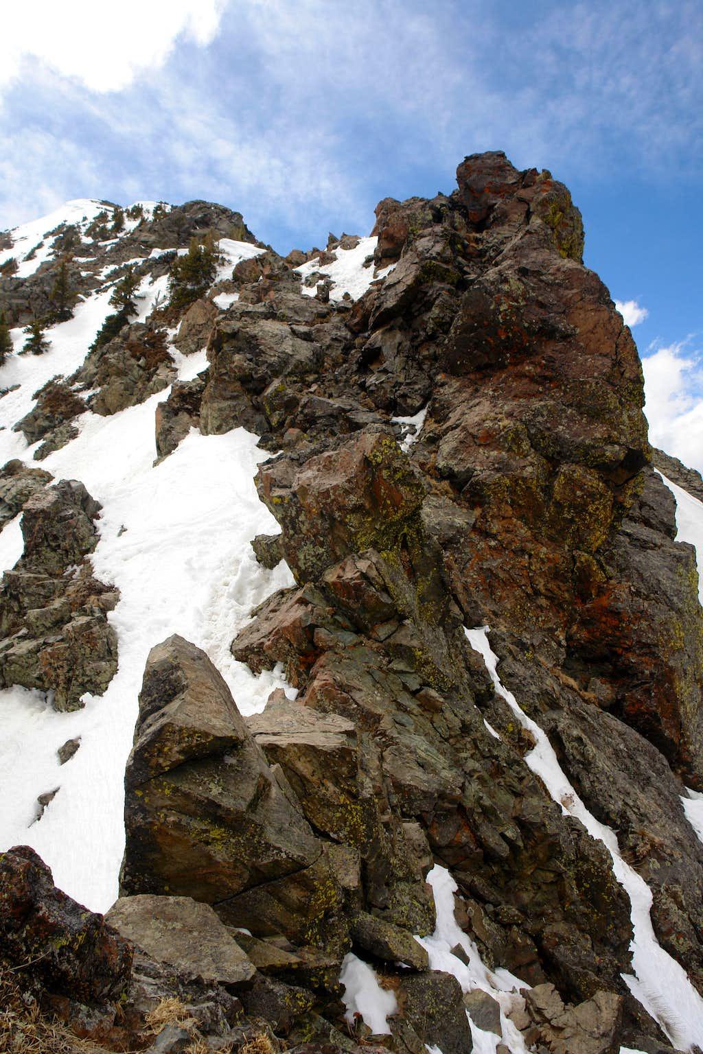 NE Ridge of Bighorn Peak