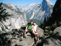 on 4 mile trail of Glacier Point