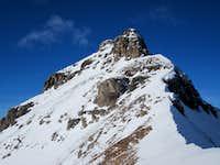 Snowy Southeast Ridge