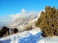 Lewis Peak North of Hidden Valley