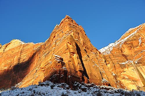West Buttress of Weeping Wall